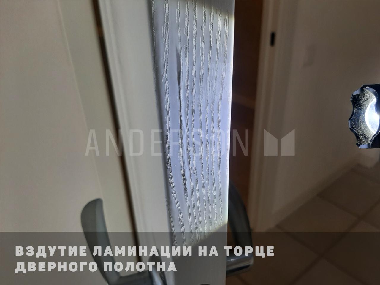 вздутие ламинации на двери